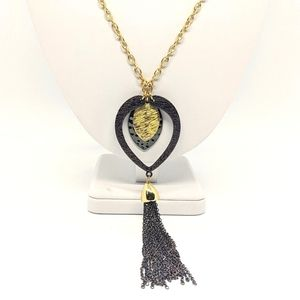 ♠️ NEW! Erica Lyons mixed metals Necklace